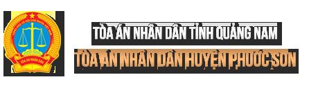 Trang thông tin điện tử Tòa án nhân dân huyện Phước Sơn